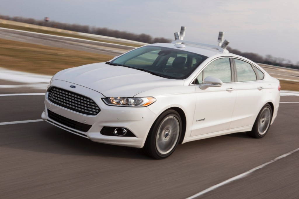 Ford: il concept di un'auto a guida automatica