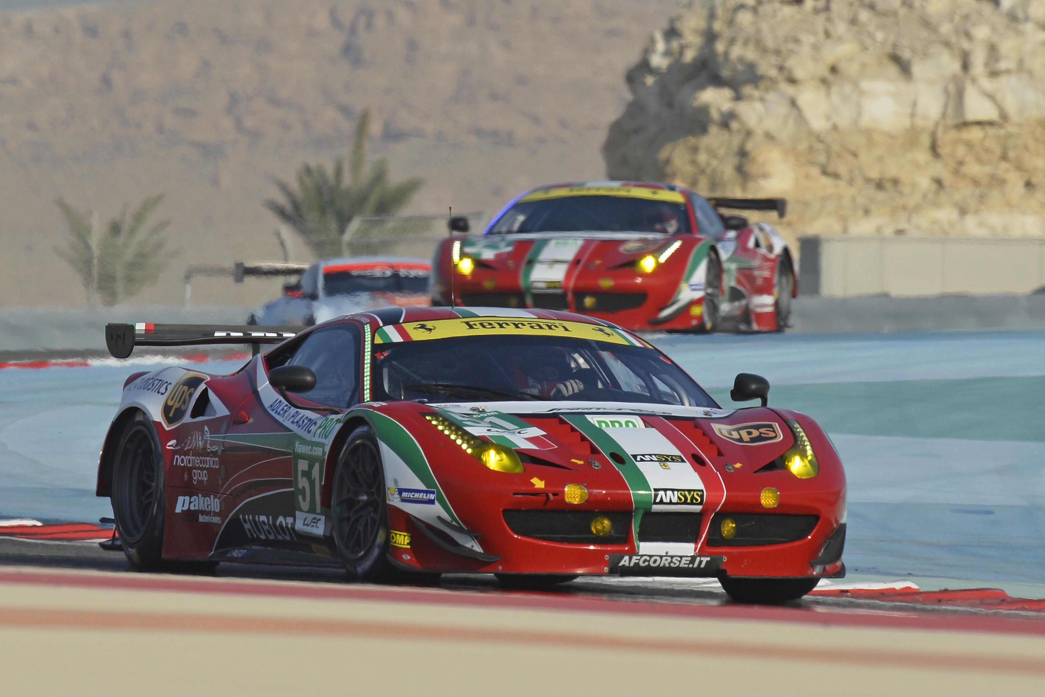 Ferrari a Le Mans con 11 titolari e 3 riserve