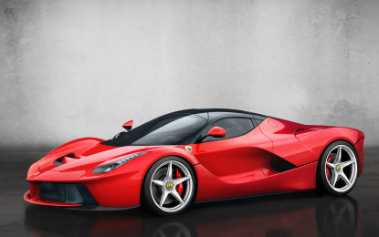 LaFerrari premiata a Madrid