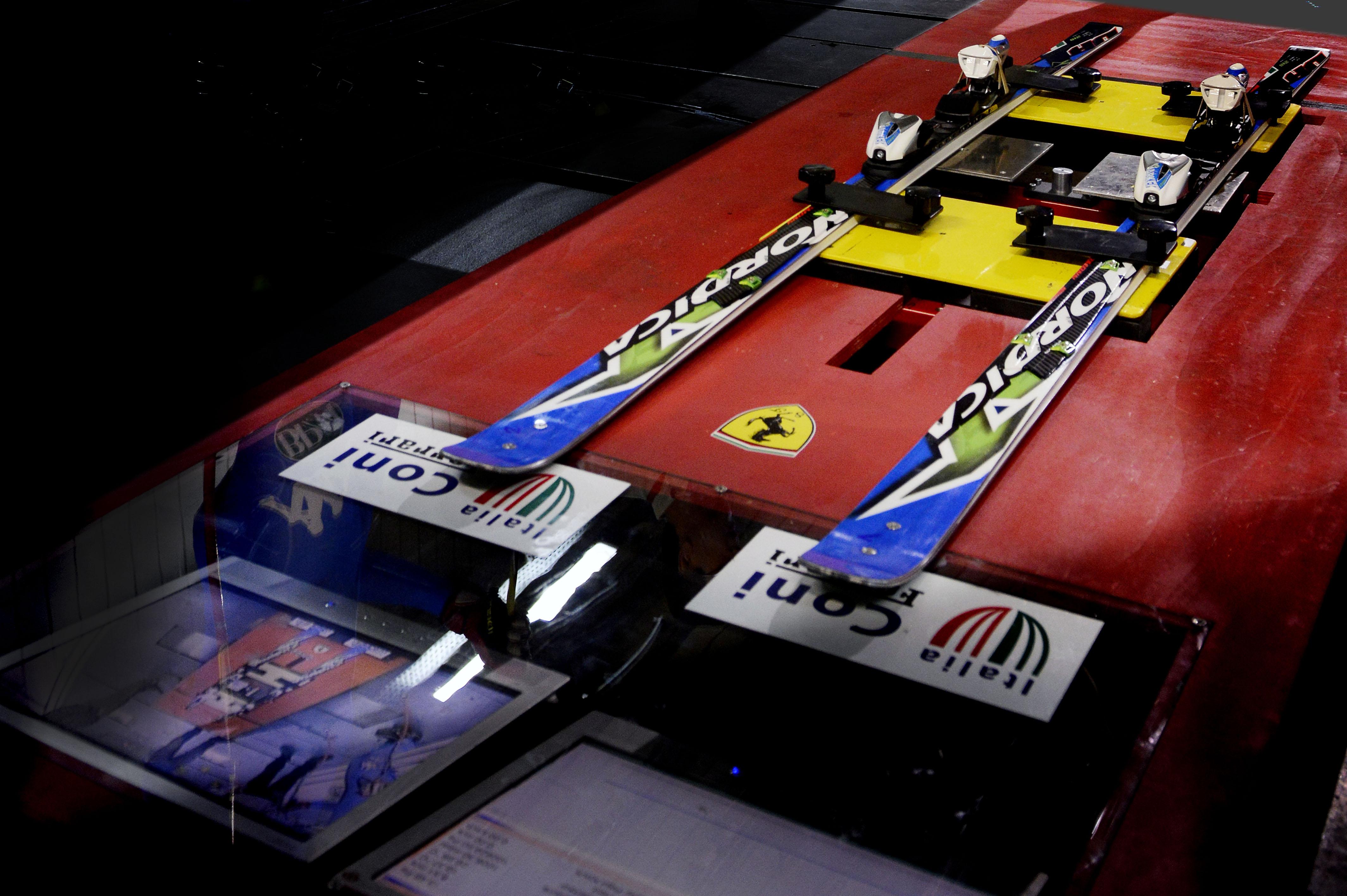 Bronzo per Christof e la Ferrari