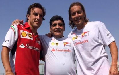 Alonso si allena… con Maradona!