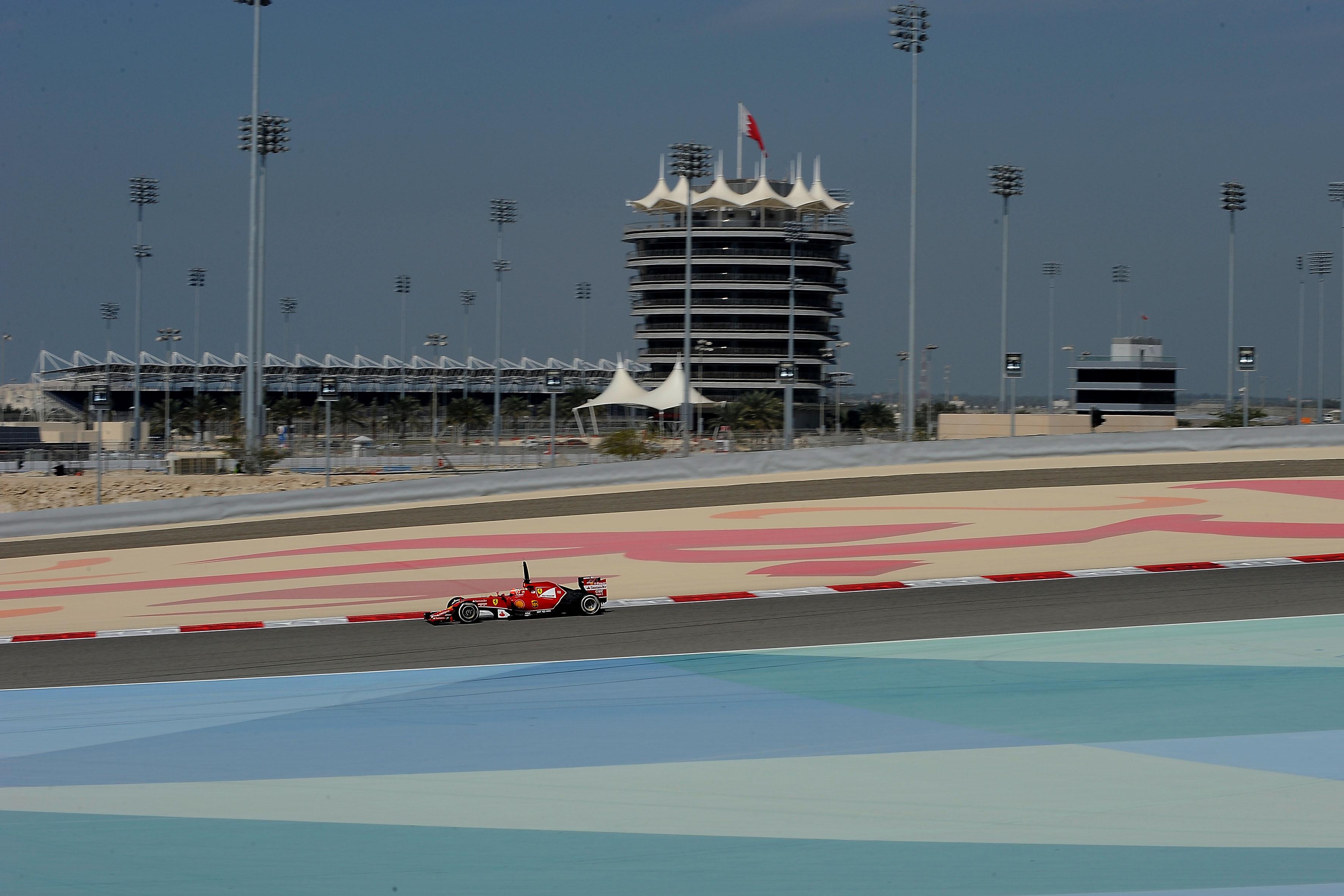 Ultimi test in Bahrain: inizia Kimi