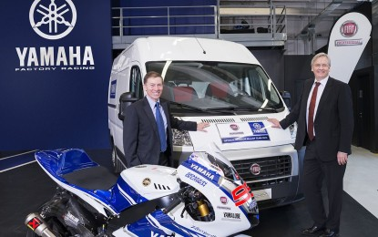Fiat Professional con il Team Yamaha Factory Racing