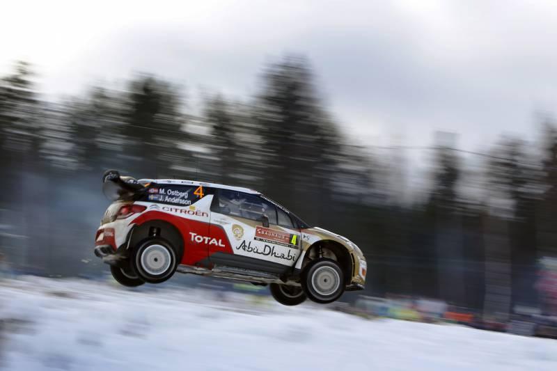 Rally Svezia: medaglia di bronzo per Østberg