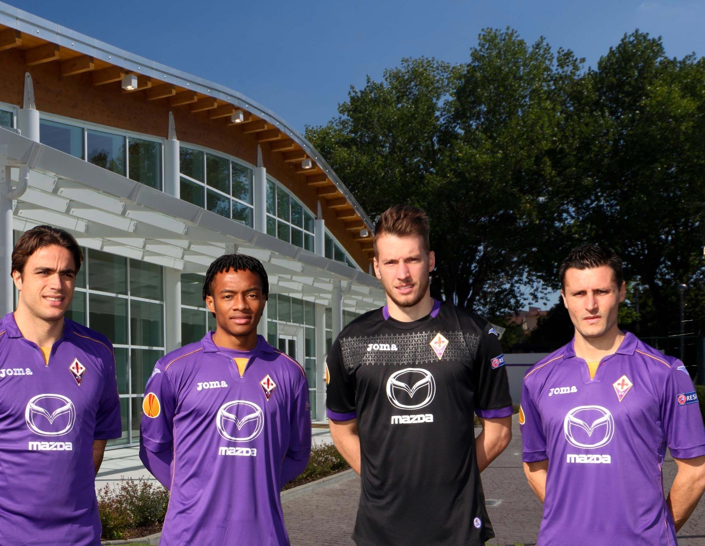 Mazda e Fiorentina insieme anche in Europa League
