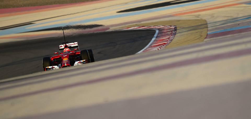 Prove di assetto per Kimi nel terzo giorno di test