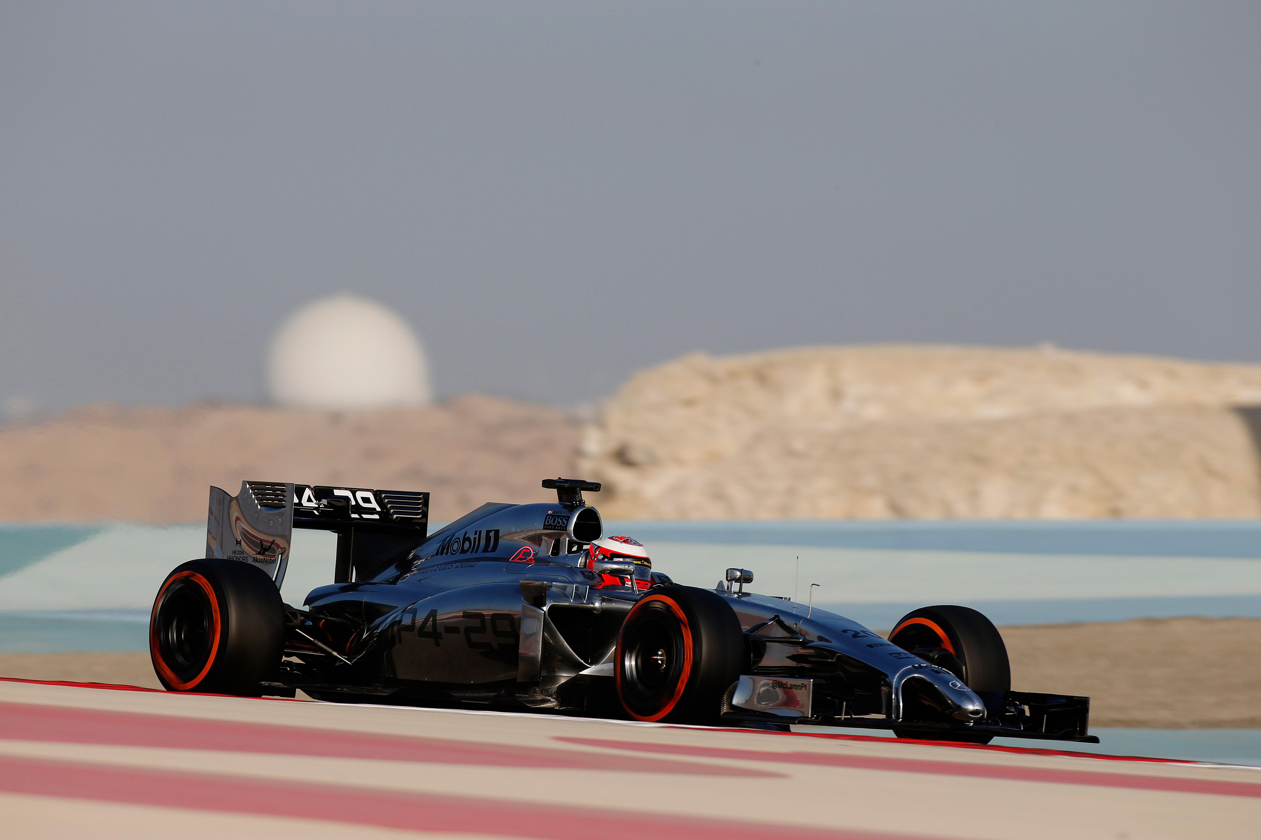 Sakhir: giovedì firmato Magnussen e McLaren
