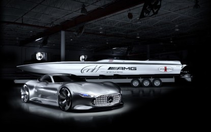 Vision GT: design futuristico by AMG e Cigarette Racing