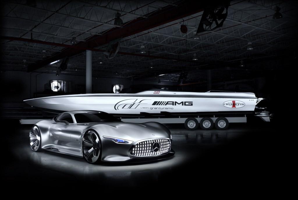 Vision GT: design futuristico by AMG e Cigarette Racing