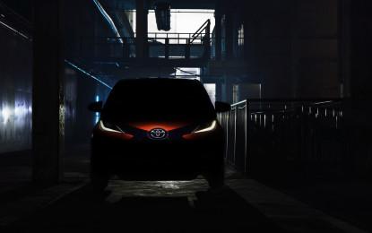 Nuova Toyota AYGO si svela a Ginevra