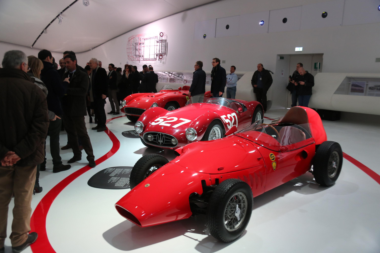 Inaugurato il nuovo Museo Enzo Ferrari