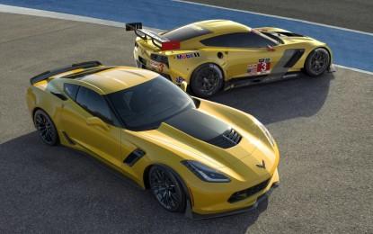 Corvette Z06 e C7.R a Ginevra