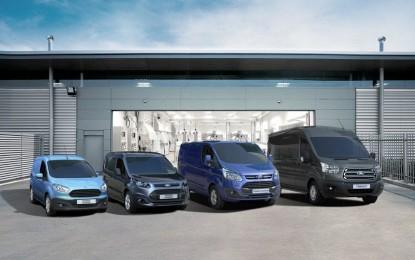 Ford cresce in Europa con i veicoli commerciali
