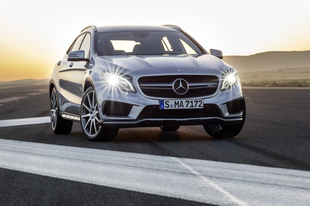 Nuova GLA 45 AMG: crossover high performance