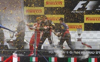 GP d'Italia: una Tribuna Scuderia Ferrari Club