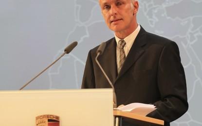 Porsche rinnova per altri 5 anni con Matthias Müller