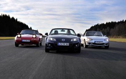 Mazda MX-5: un sito per i 25 anni