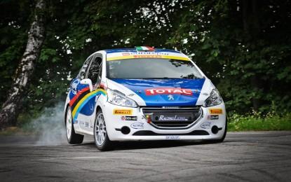 Peugeot Italia Rally Junior Team con Stefano&Silvia