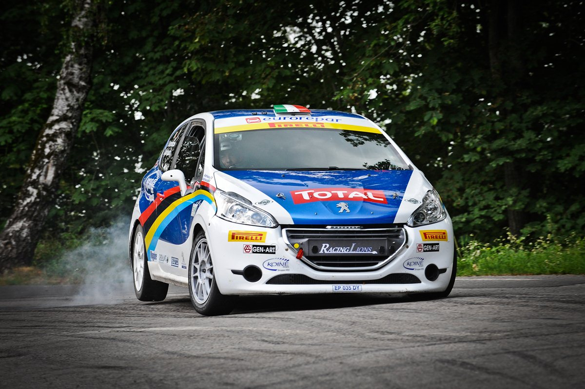 Peugeot Italia Rally Junior Team con Stefano&Silvia