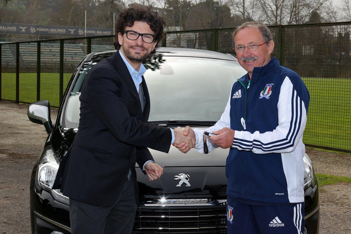 Peugeot ama l'Italia e il Rugby