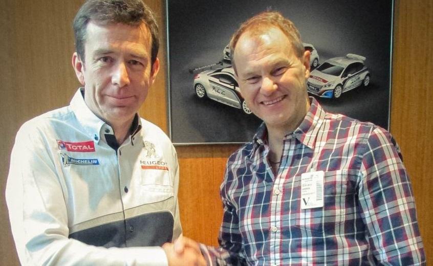 Peugeot con Hansen Motorsport nel Rallycross