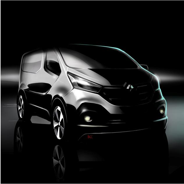 Renault Trafic: anteprima