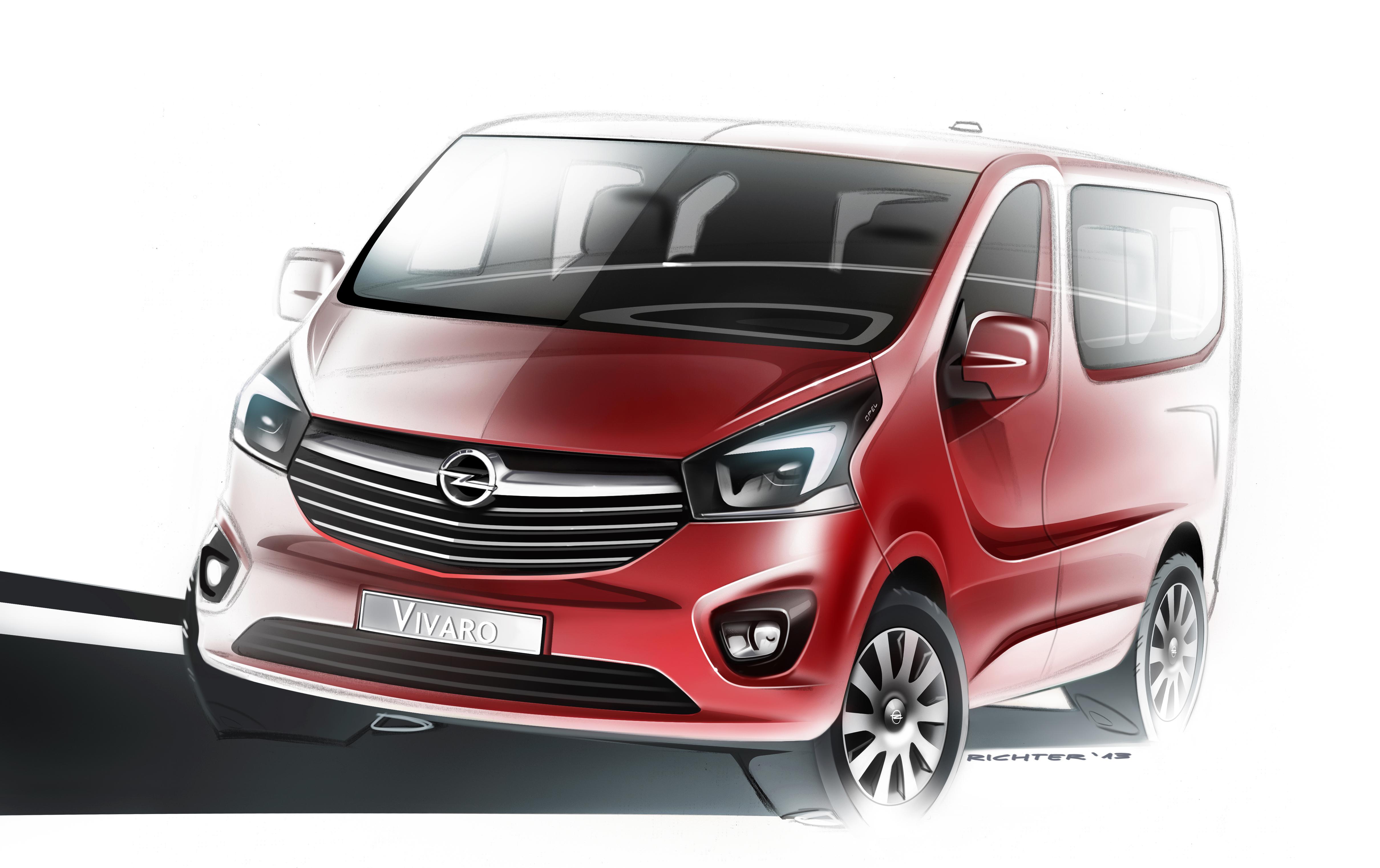 Primo sguardo al nuovo Opel Vivaro