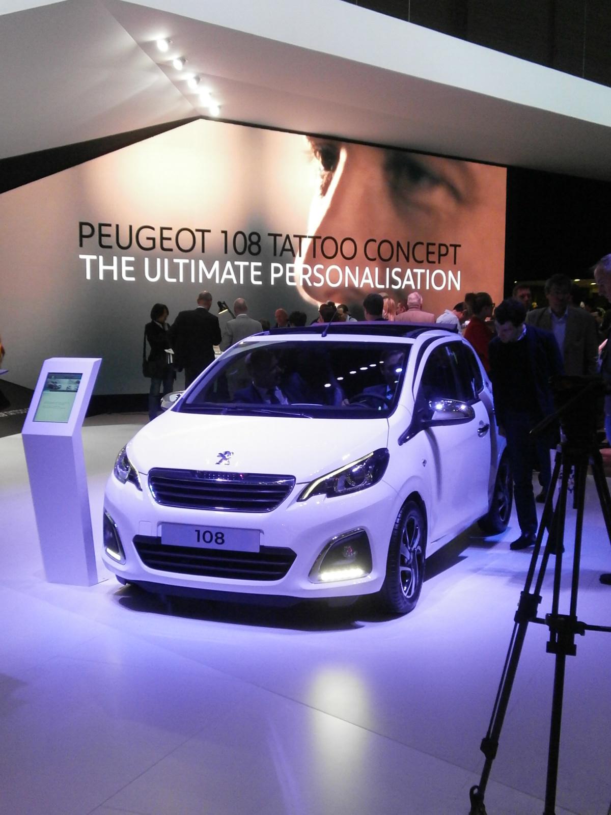 Ginevra live: nuove Peugeot 108, a ognuno la sua