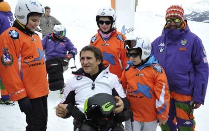 BMW e Alex Zanardi con gli atleti di SlalomAbile