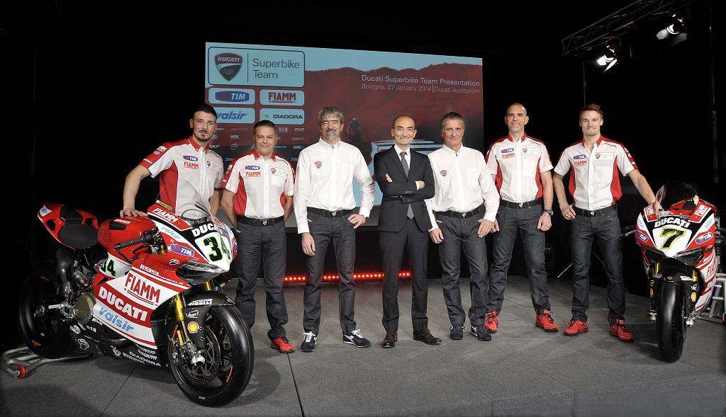Presentato il Team Ducati Superbike 2014