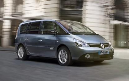Renault con una flotta di Espace per i César