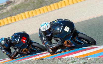 Moto2 e Moto3: ultimi test a Jerez