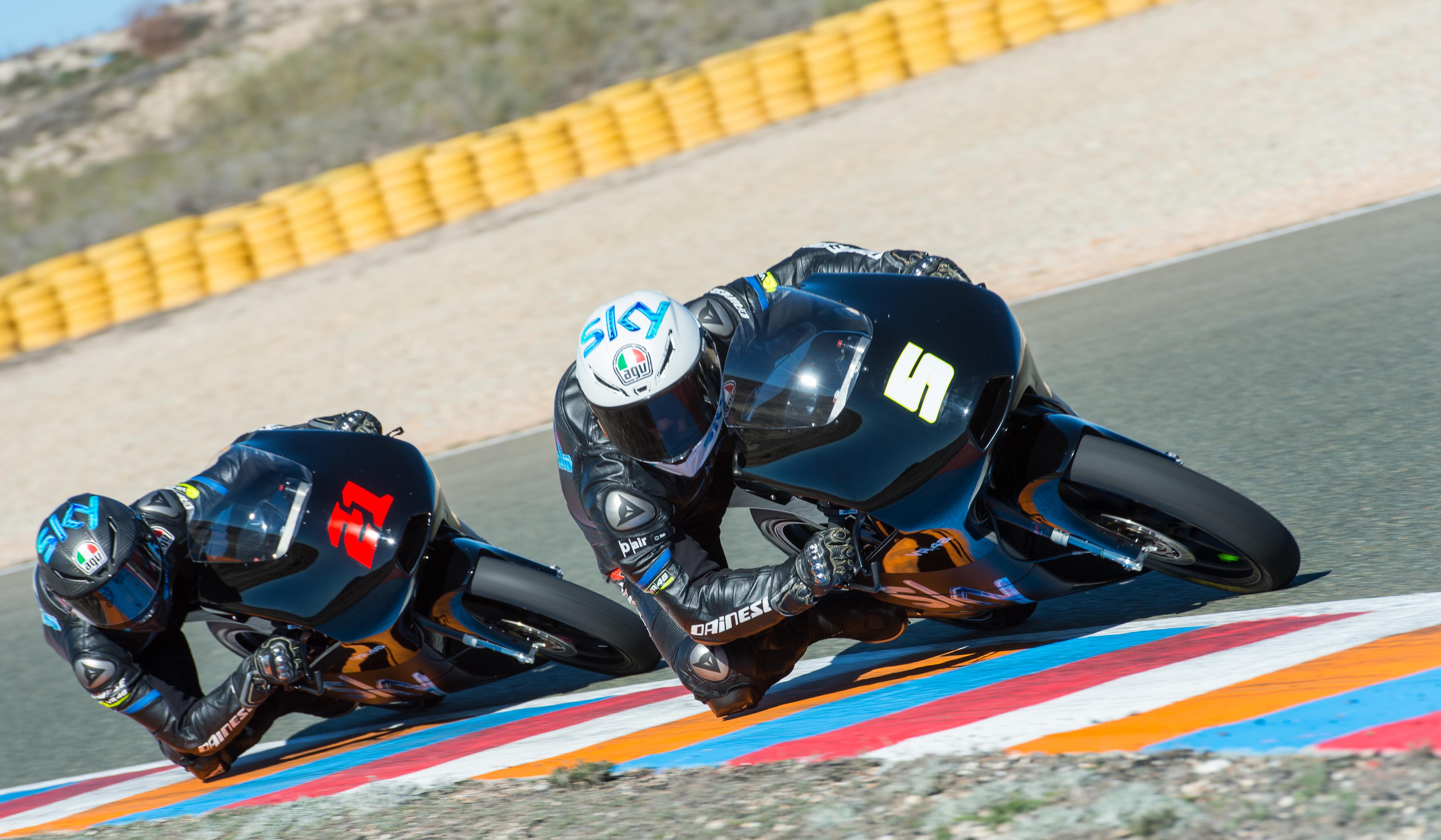 Moto3: test privati di Almeria