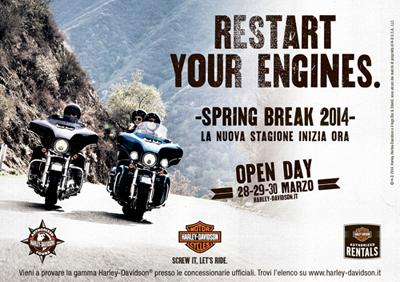 Spring Break 2014 Harley-Davidson