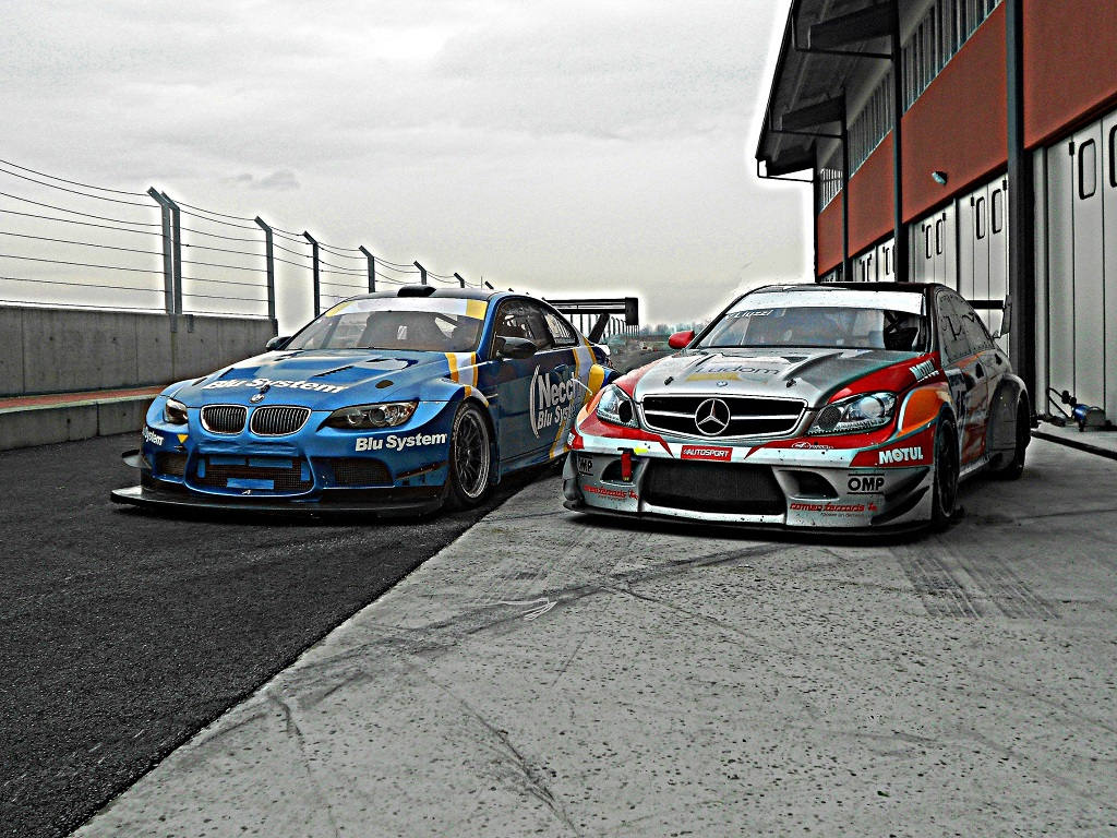 Primi test per la Michelin Touring Cars Cup 2014