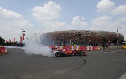 La Ferrari F60 e Gené protagonisti in Sudafrica
