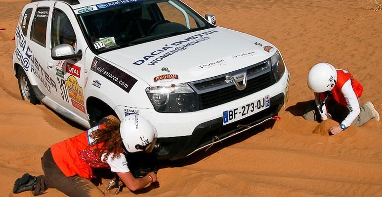 Dacia Duster e le Gazzelle pronte per il deserto