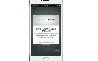 Arriva al Salone in Cadillac!