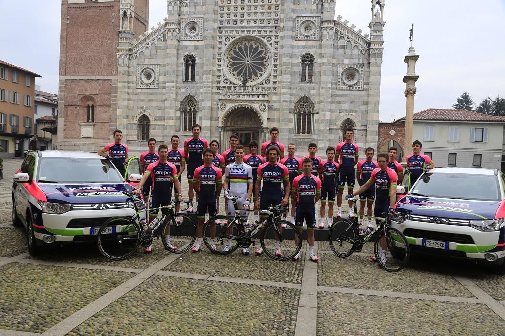Con Mitsubishi il Crossover sbarca nel ciclismo