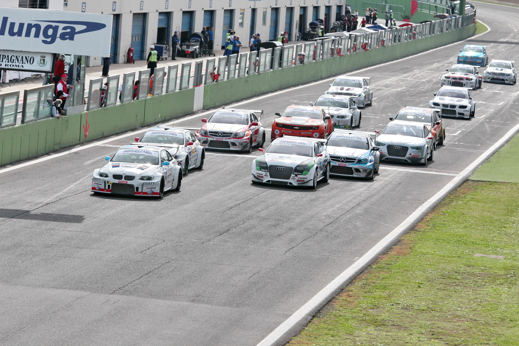 EUROV8 SERIES: tutto pronto!