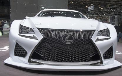 Ginevra live: Lexus RC F e le altre…