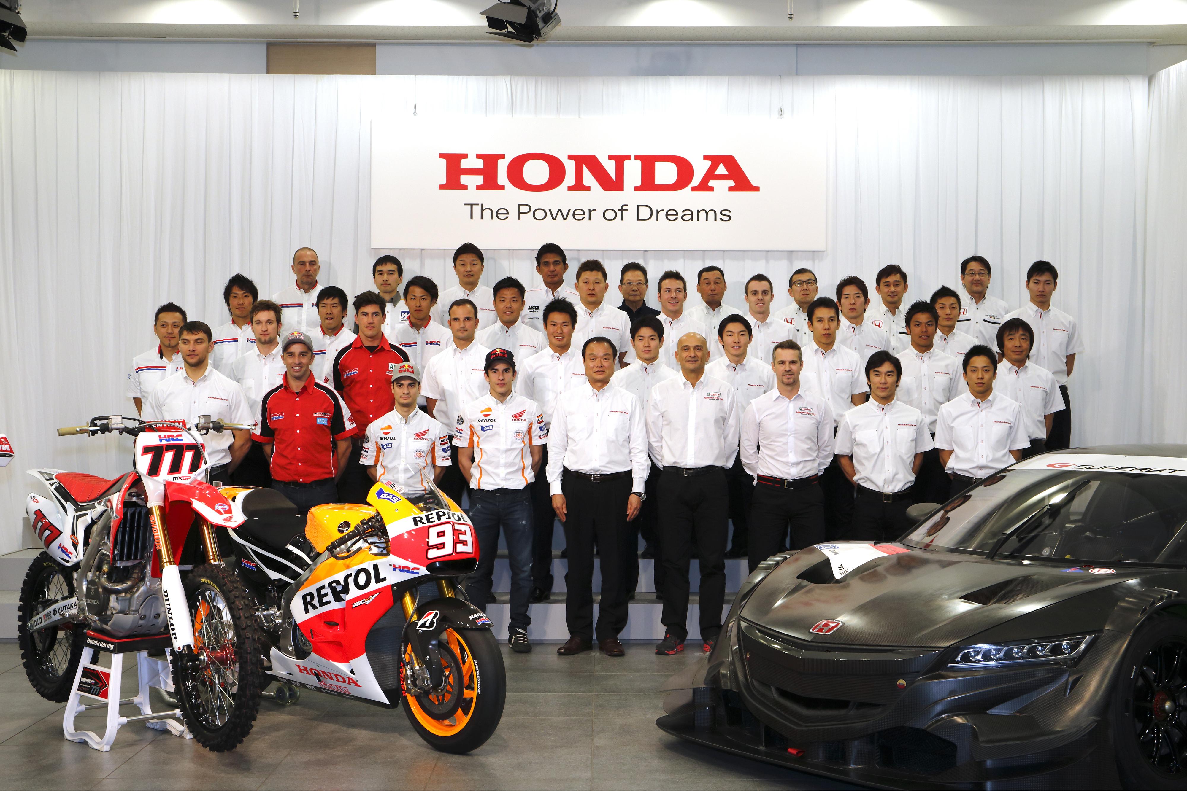 Honda annuncia il programma Motorsport 2014