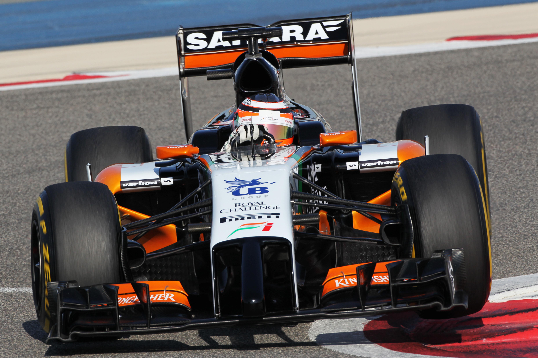 Test F1: solo Alonso nella top 4 Mercedes