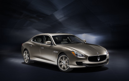 Maserati: Quattroporte Limited Edition e un concept top secret