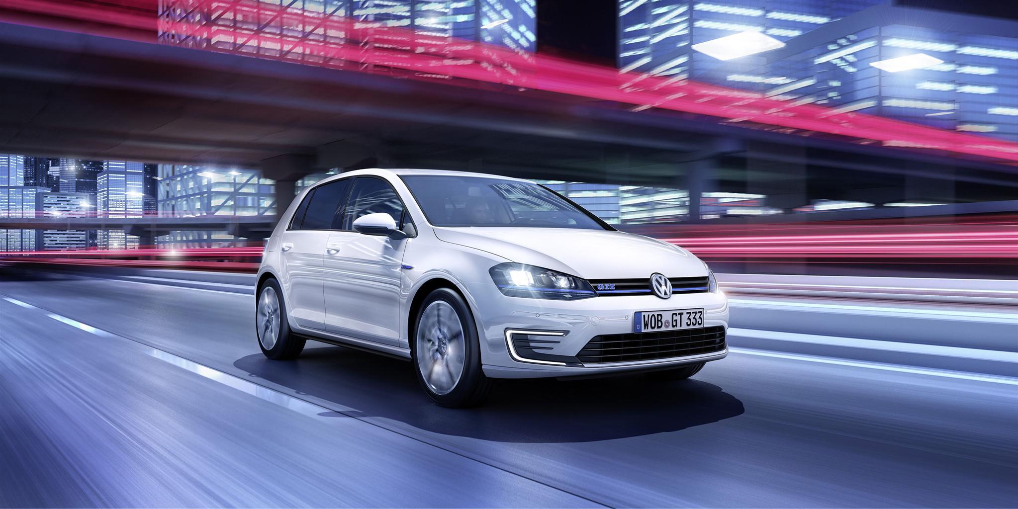 VW Golf GTE anteprima mondiale a Ginevra