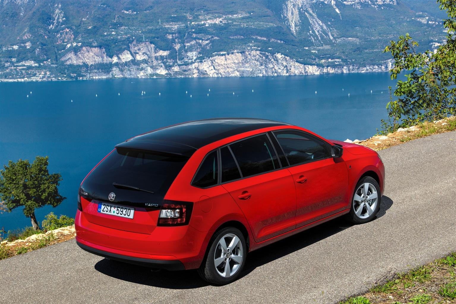 ŠKODA Rapid Spaceback: valore residuo top