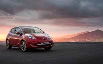 LEAF veicolo 100% elettrico bestseller in Europa