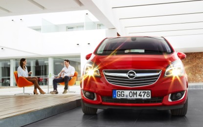 Opel presenta la nuova Meriva