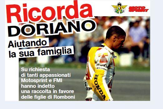 """""""Ricorda Doriano"""": raccolti oltre 13.000 euro"""
