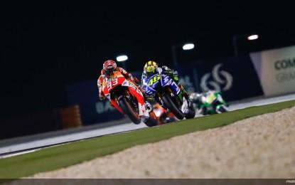 MotoGP: il grande show firmato Marquez-Rossi
